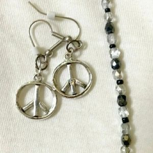 Peace jewllery set